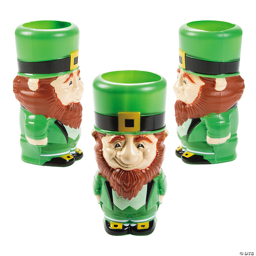 Molded Leprechaun Cups