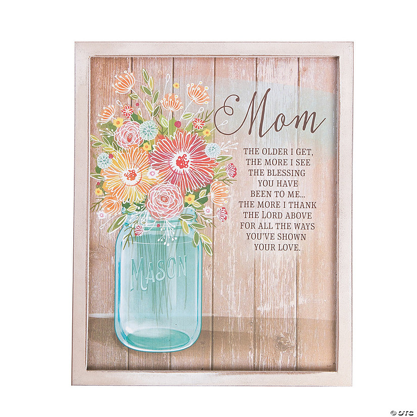 Mom Wall Plaque
