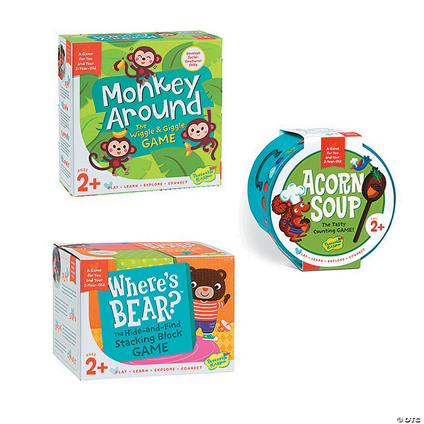 Monkey Around, Where's Bear and Acorn Soup: Set of 3 Audio Thumbnail