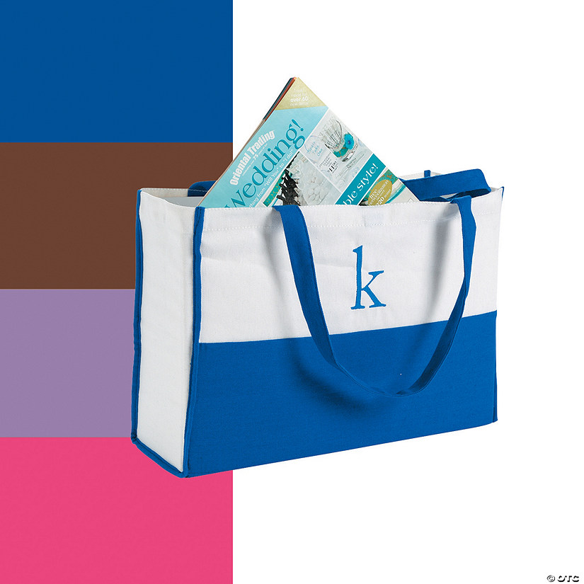 Monogrammed Canvas Tote Audio Thumbnail