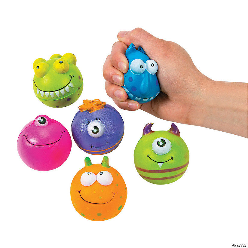 Monster Character Stress Balls Audio Thumbnail