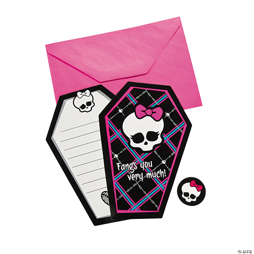 Monster High™ Thank You Cards