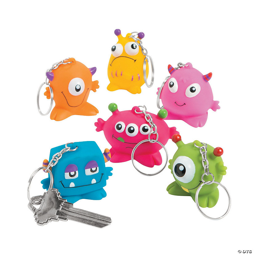 Monster Keychains