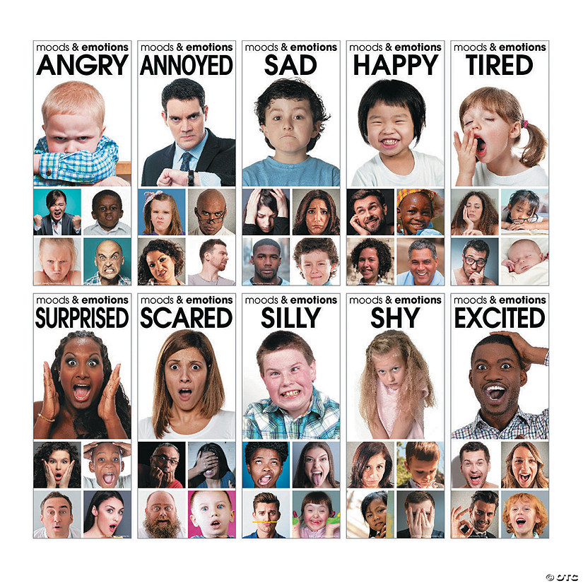 Moods & Emotions Poster Set