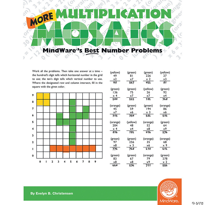 More Multiplication Mosaics