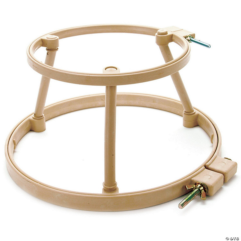 "Morgan Lap Stand Combo 7"" & 10"" Hoops-"