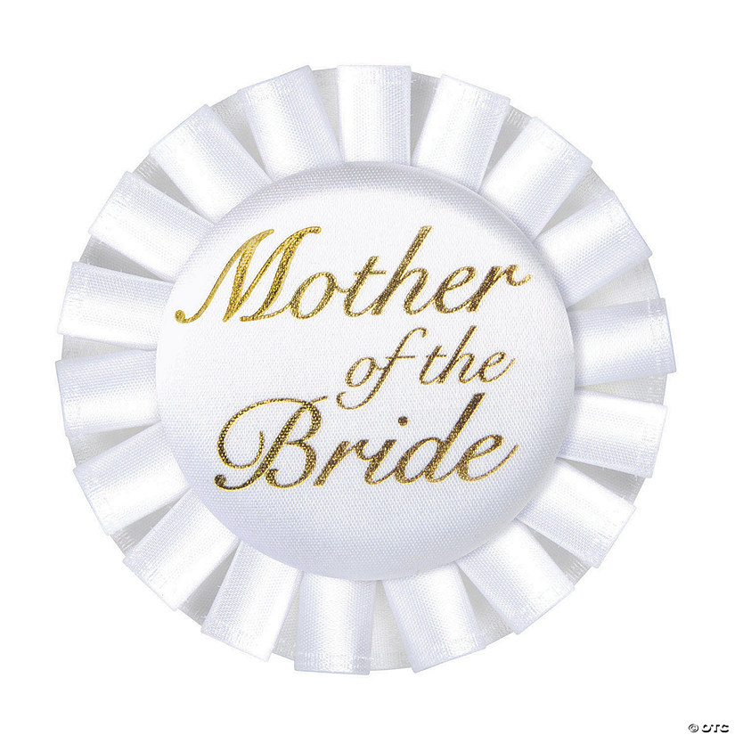 Mother of the Bride Button Image Thumbnail