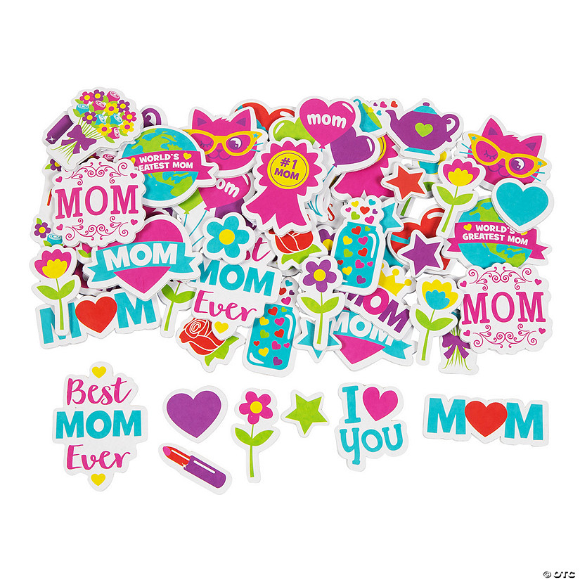 Mother's Day Self-Adhesive Shapes Audio Thumbnail