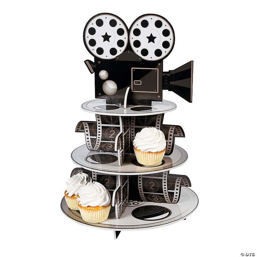 Movie Reel Cupcake Stand Audio Thumbnail