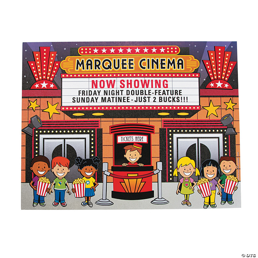 Movie Theater Sticker Scenes Audio Thumbnail