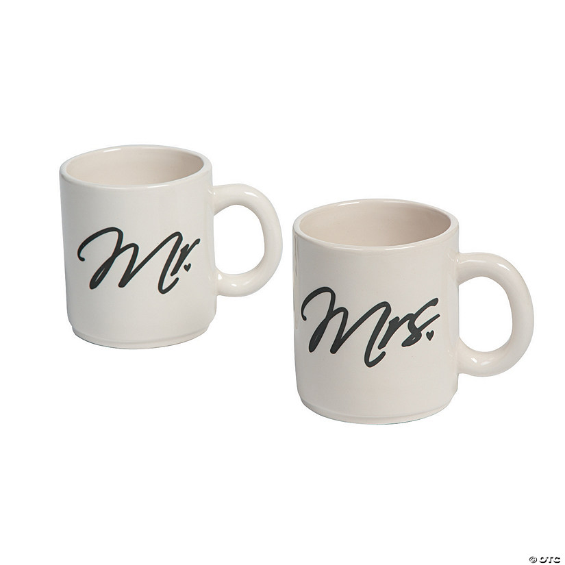 Mr. & Mrs. Coffee Mugs