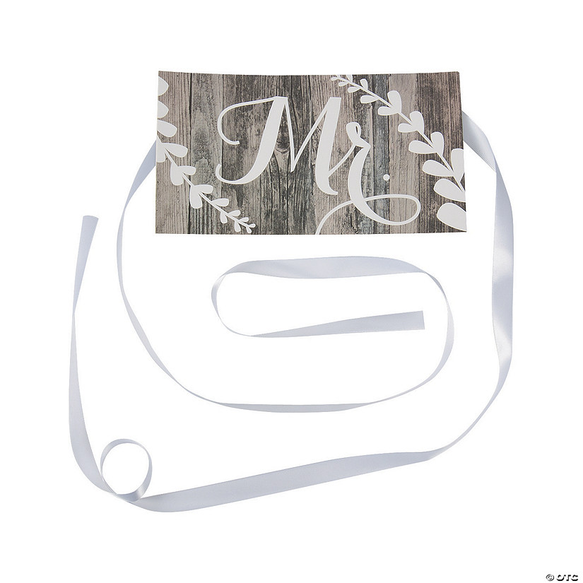 Mr. Chair Wedding Sign