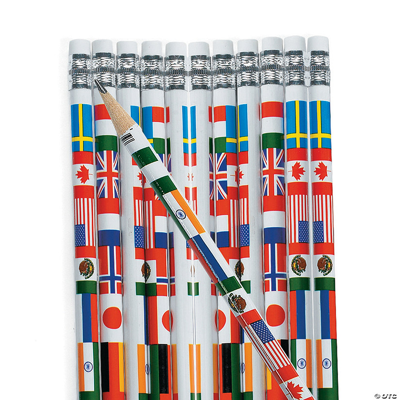 Multicultural Flag Pencils Audio Thumbnail