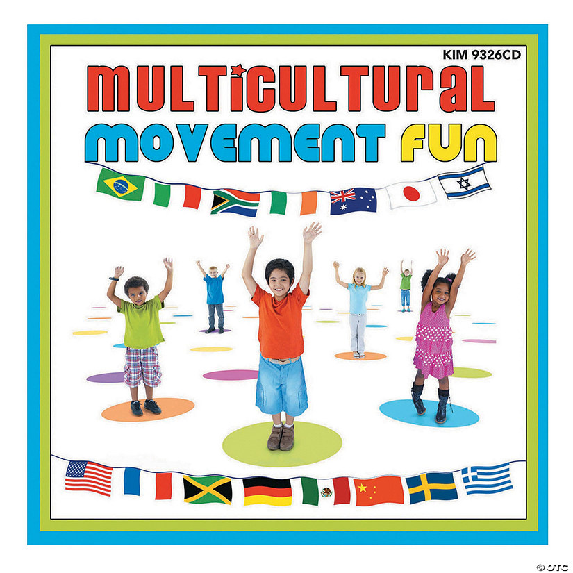 Multicultural Movement Fun CD