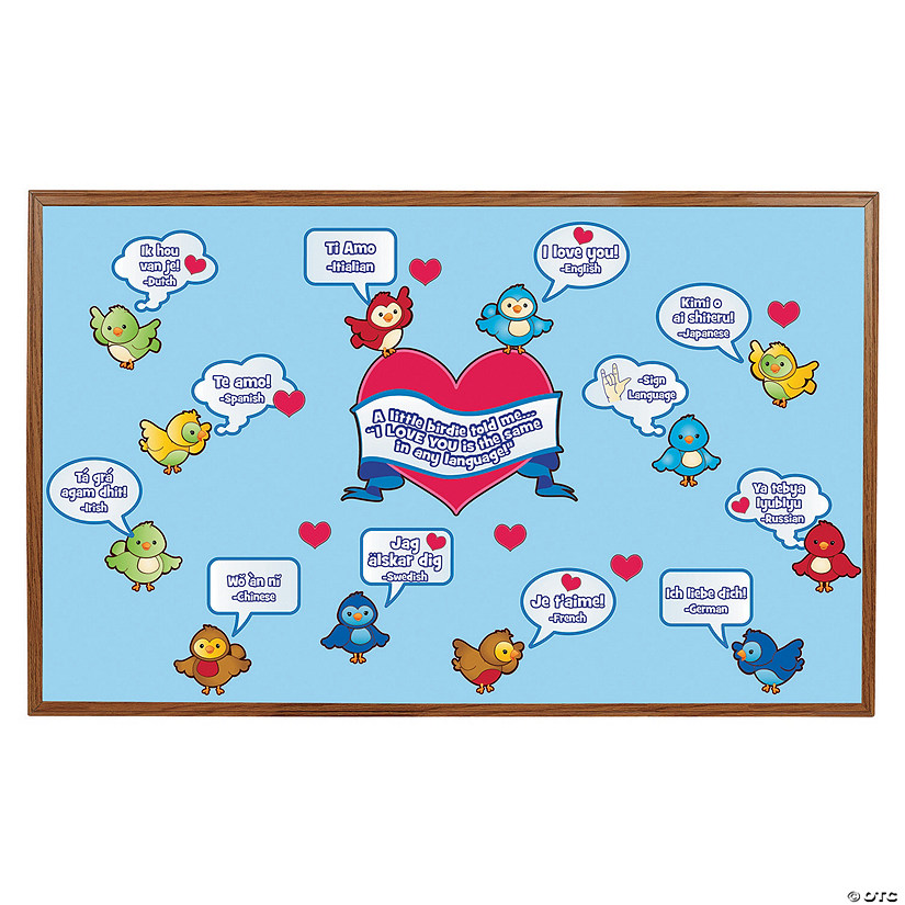 Multicultural Valentine Bulletin Board Cutouts Discontinued