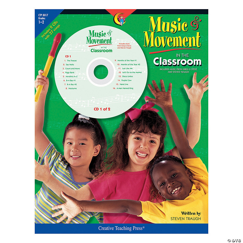 Music & Movement in the Classroom Program with CDs - Grades 1-2 Audio Thumbnail