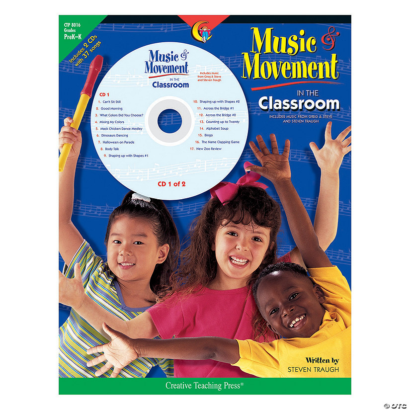 Music & Movement in the Classroom Program with CDs - PreK-Kindergarten Audio Thumbnail