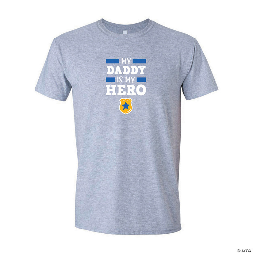 My Daddy Is My Hero Police Youth T-Shirt Image Thumbnail