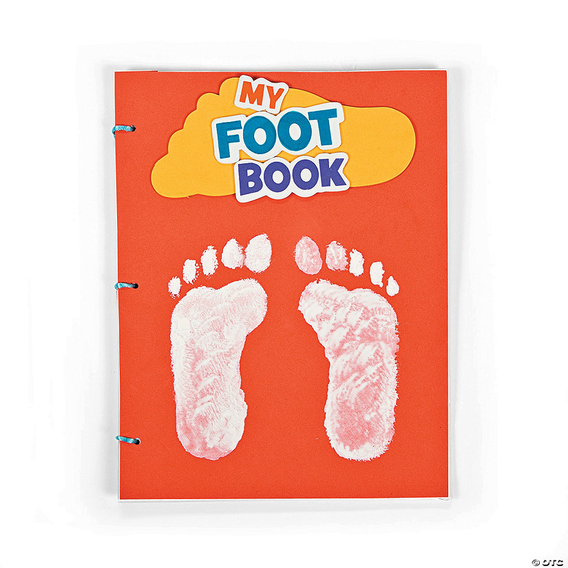 """My Foot Book"" Craft Kit"