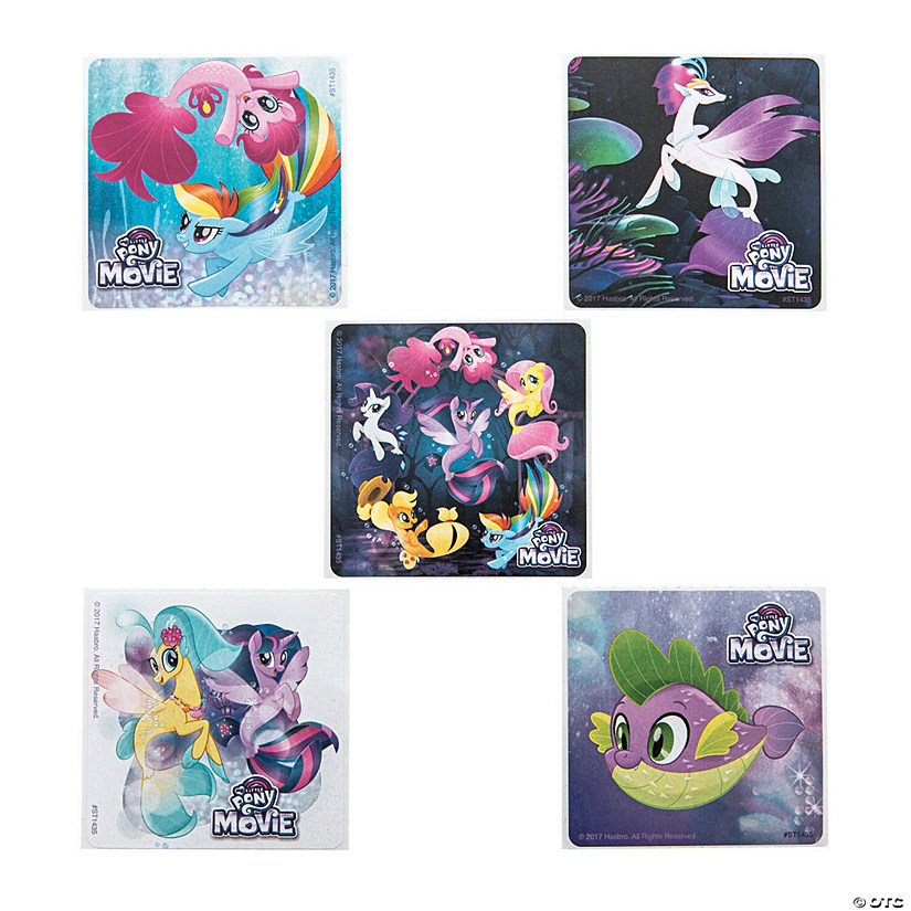 My Little Pony<sup>®</sup> The Movie Stickers