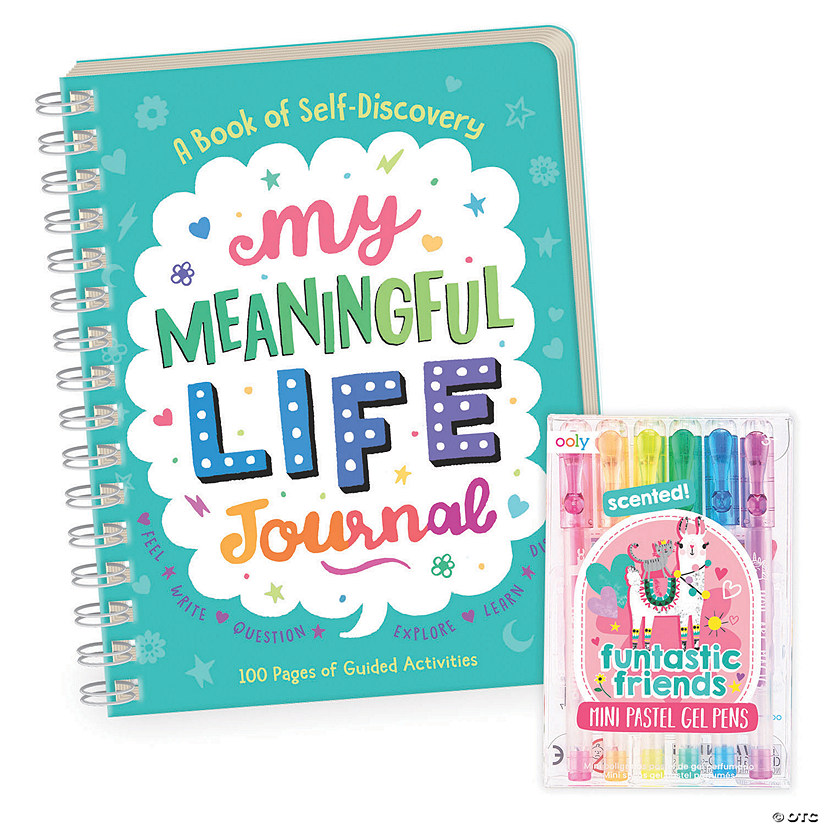 My Meaningful Life Journal with FREE Gel Pens Image Thumbnail