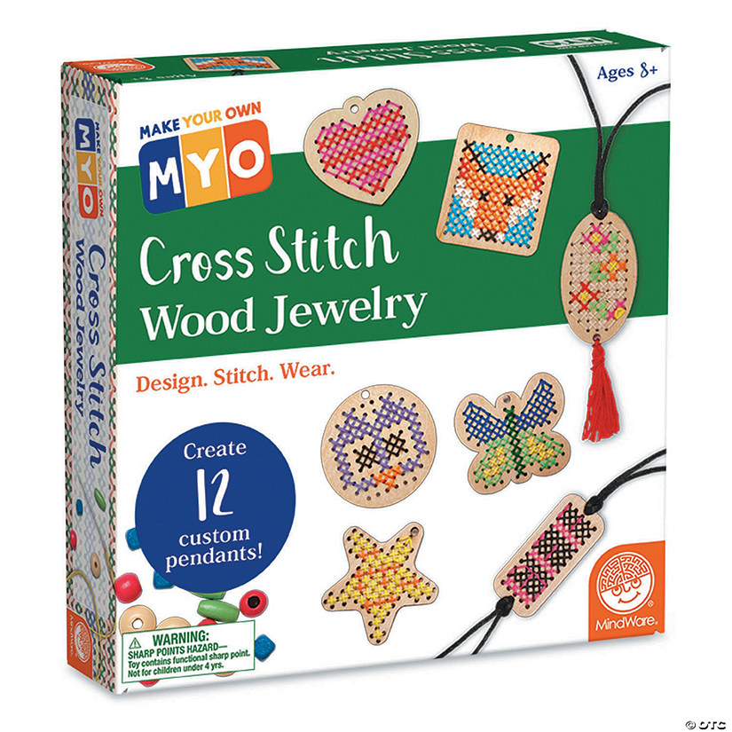 MYO Cross-Stitch Jewelry