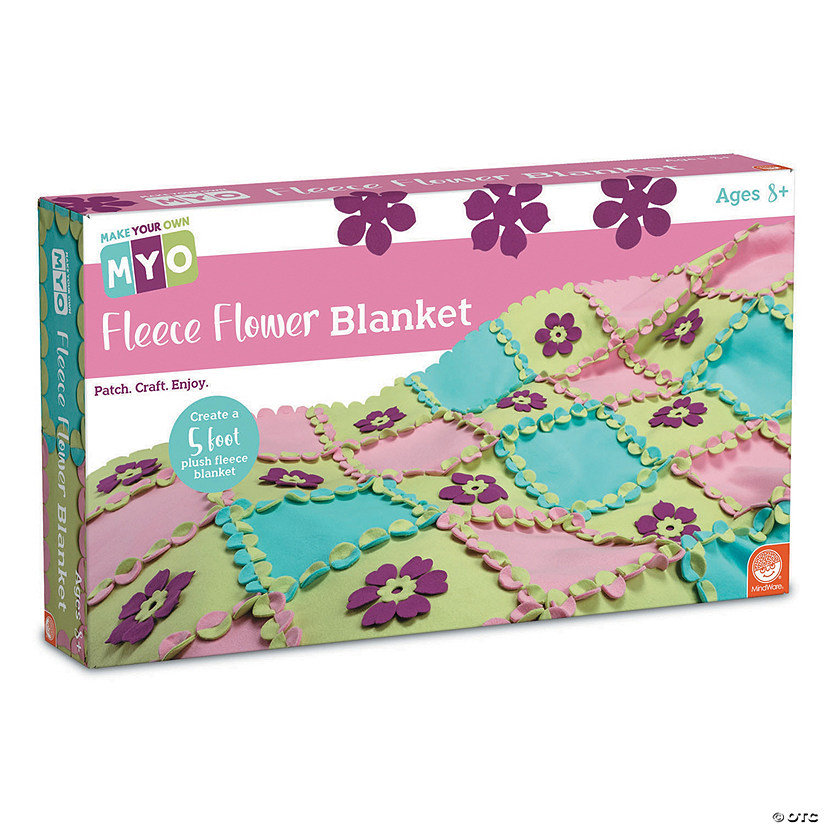 MYO Fleece Flower Blanket