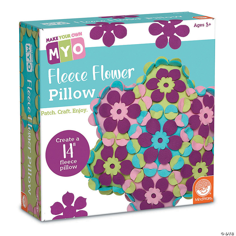 MYO Fleece Flower Pillow
