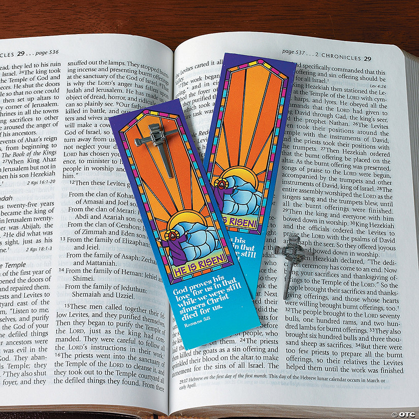 Nail Cross Pins & Bookmarks Image Thumbnail