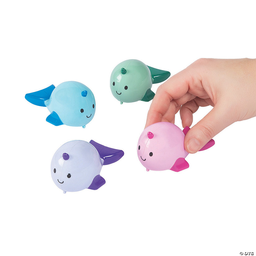 Narwhal Pull-Back Toys Audio Thumbnail