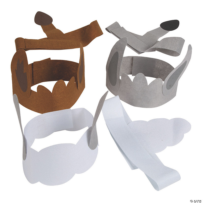 Nativity Animal Headband & Tail Craft Kit Audio Thumbnail
