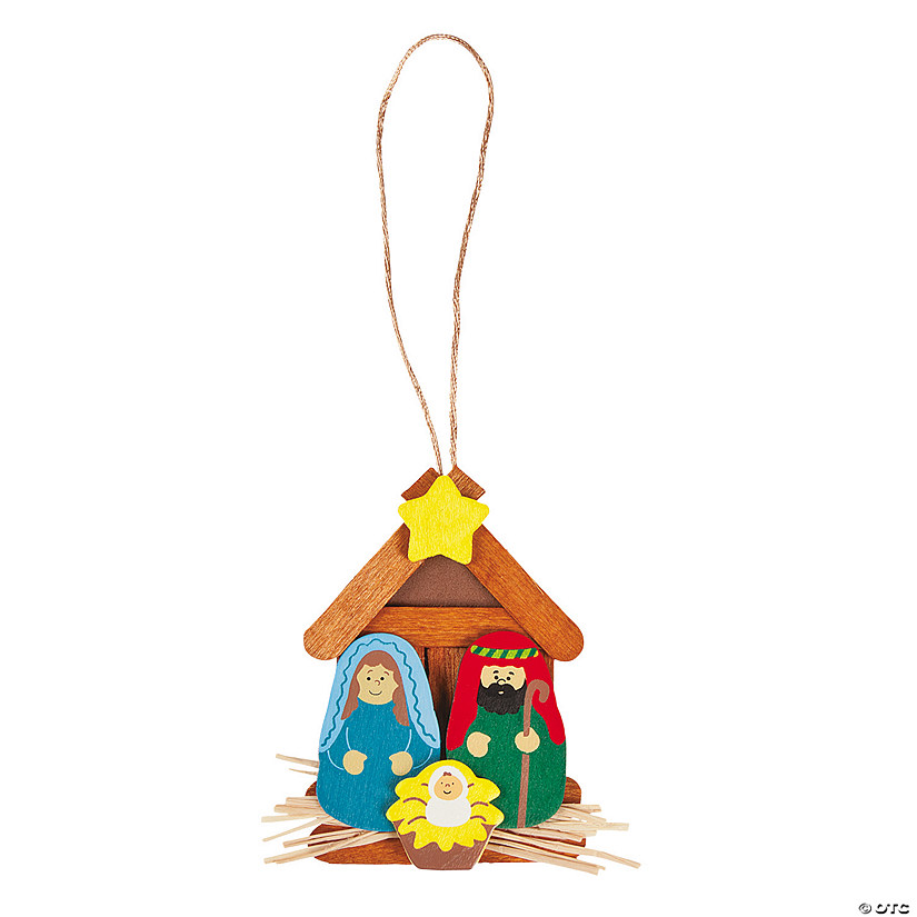 Nativity Christmas Ornament Craft Kit Audio Thumbnail