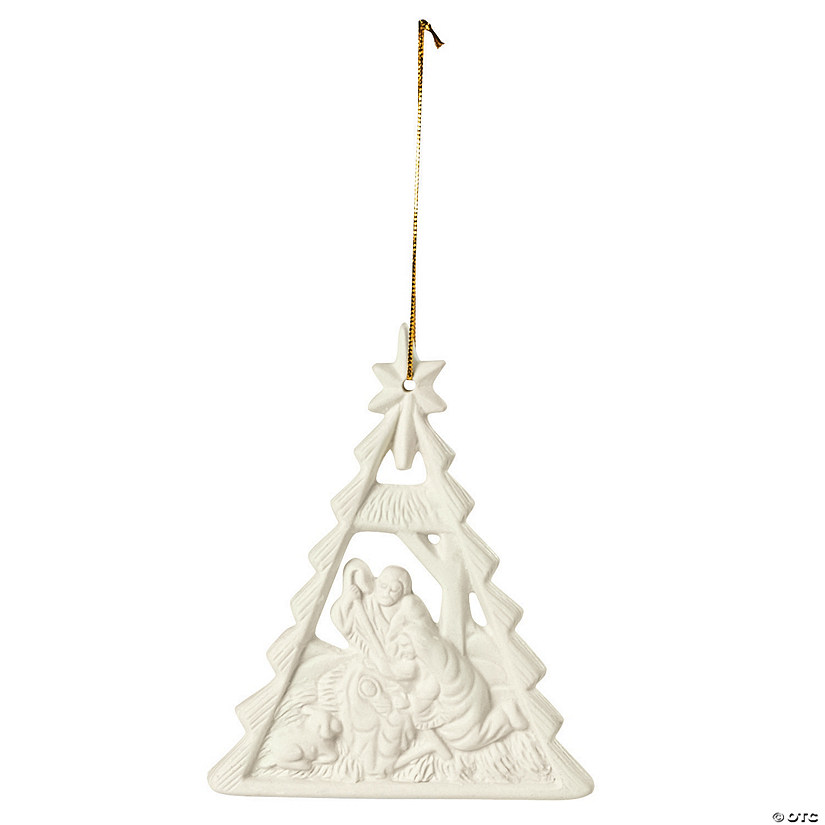 nativity christmas tree ornaments - Nativity Christmas Decorations