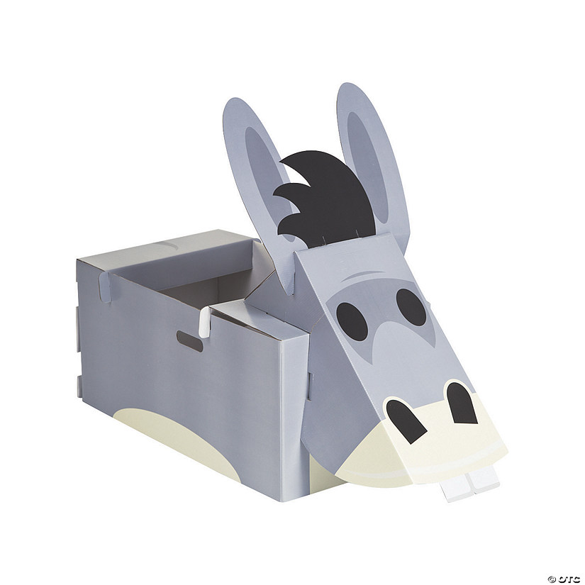 Nativity Donkey Paper Box Costume Audio Thumbnail
