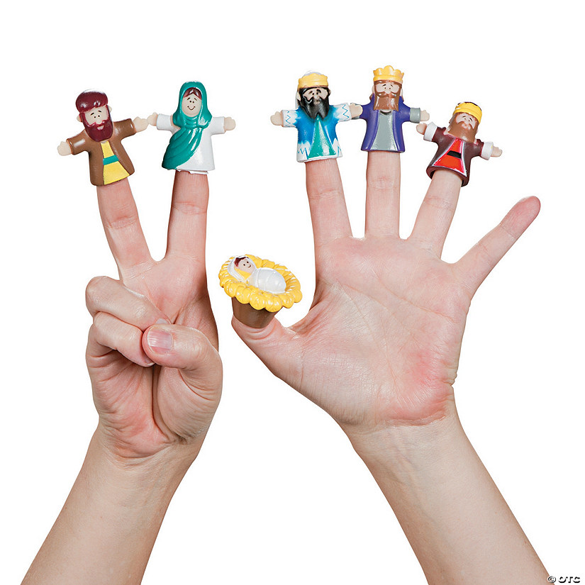 Nativity Finger Puppets Image Thumbnail