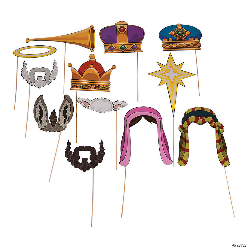 Nativity Photo Stick Props