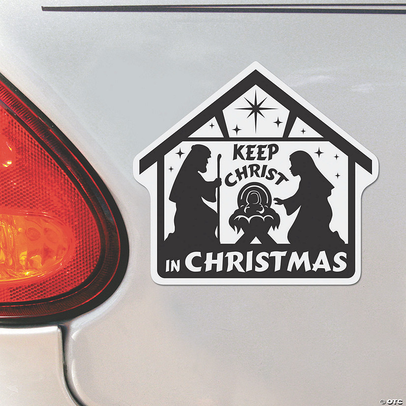 Nativity Scene Car Magnets