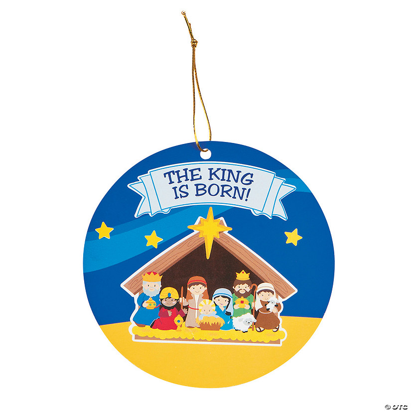 Nativity Sticker Scene Ornaments Audio Thumbnail