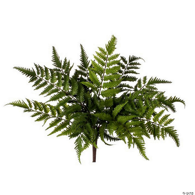 "Natural Touch Forest Fern Plant 16""-Two-Tone Green"