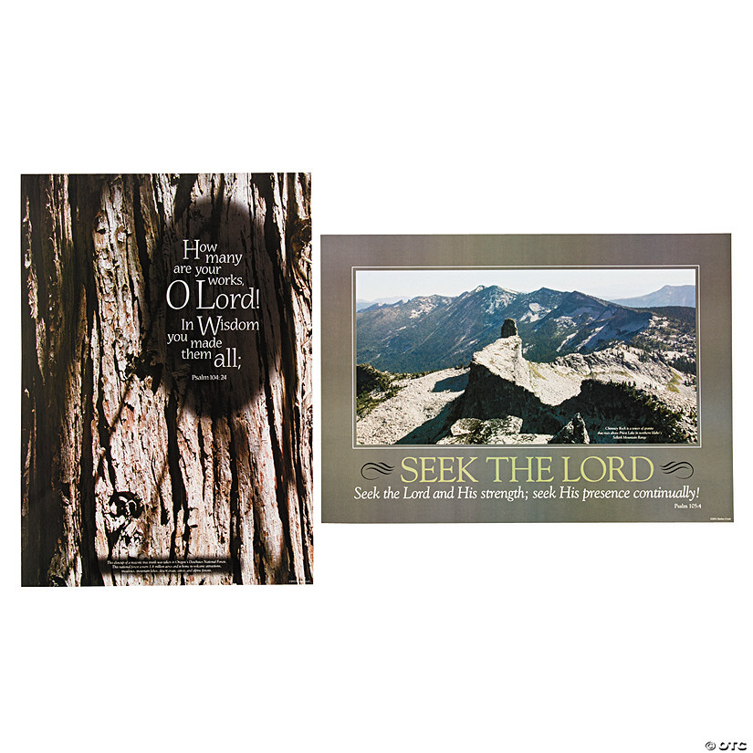 Natural Wonders Spiritual Poster Set