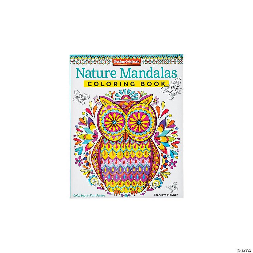 Nature Mandalas Adult Coloring Book - Discontinued