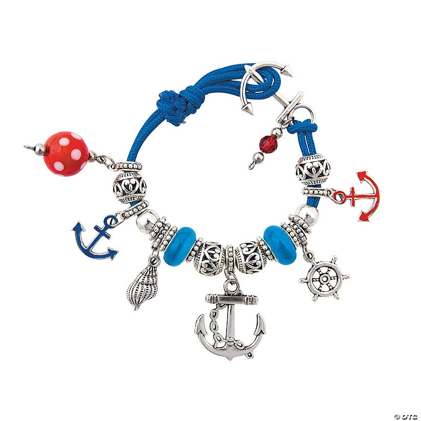Nautical Anchor Bracelet Craft Kit Image Thumbnail