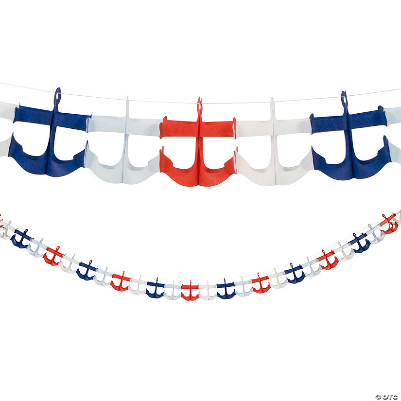 Nautical Anchor Garland Audio Thumbnail