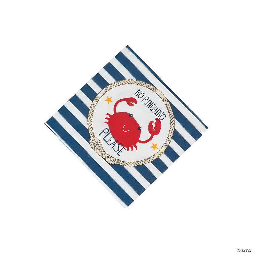 Nautical Baby Shower Beverage Napkins