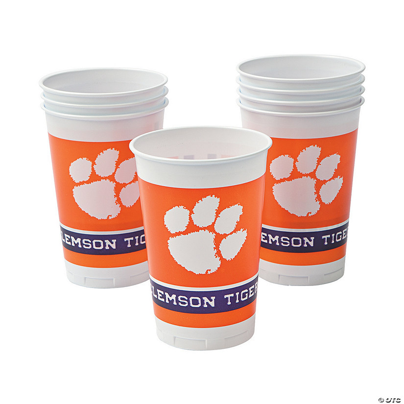 NCAA™ Clemson Plastic Cups Audio Thumbnail