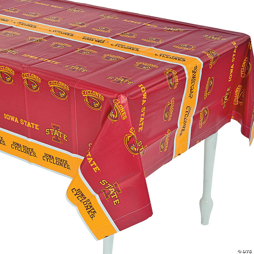 NCAA™ Iowa State Cyclones Plastic Tablecloth