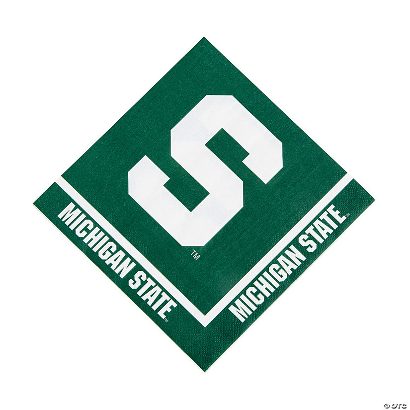 NCAA™ Michigan State Spartans Luncheon Napkins Audio Thumbnail