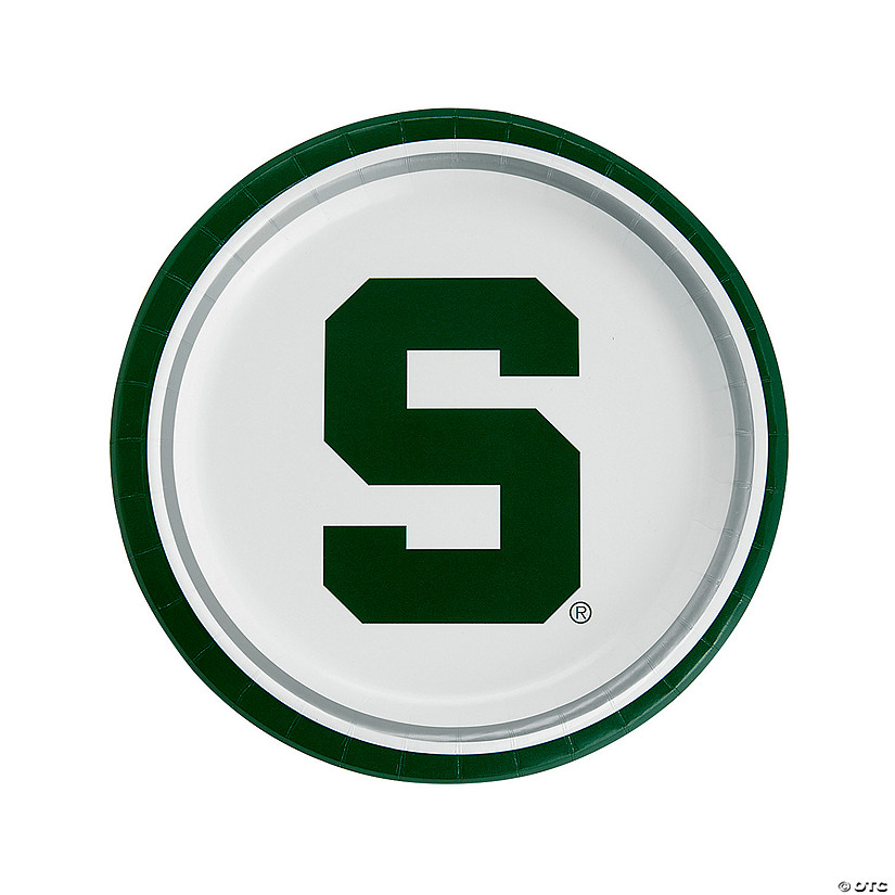 new concept ce78d 49961 NCAA  8482  Michigan State Spartans Paper Dinner Plates Audio Thumbnail
