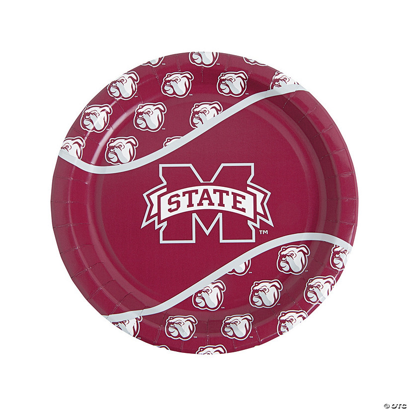 NCAA™ Mississippi State Bulldogs Paper Dinner Plates