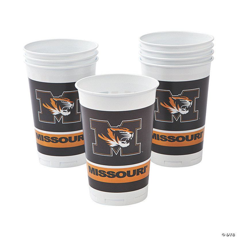 NCAA™ Missouri Plastic Cups